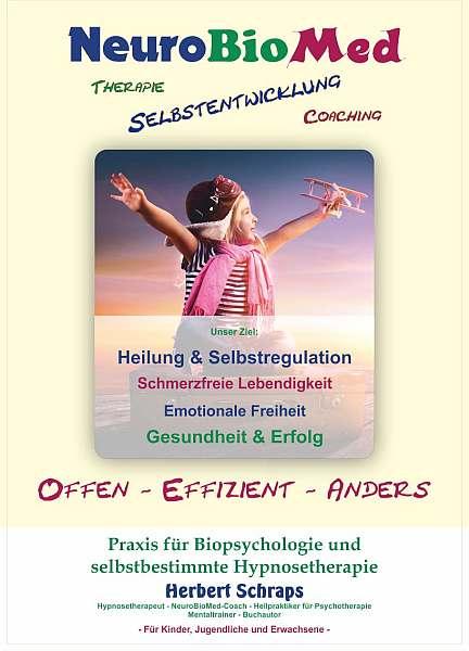 Praxis-Broschüre Selbstbestimmte Gefühlshypnose - Hypnosetherapie Ängste und Panik therapie und Selbstheilung